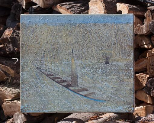 Acrylic painting on canvas. Картина Путешествие Купить в Киеве
