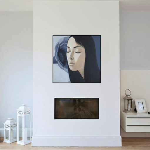 Acrylic painting on canvas Картина Время музыки