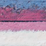 Картина Белая река Восковая живопись Энкаустика Абстракция Современное искусство. Original Encaustic Painting