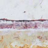 Картина Белый день Восковая живопись Энкаустика Абстракция Encaustic Painting