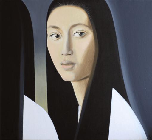 Картина Портрет девушки. Живопись для интерьера Акриловая живопись