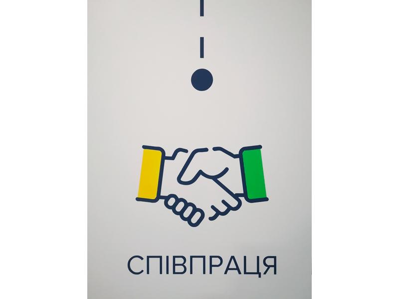 Роспись офиса Инфографика Роспись кухни оформление стен в офисе Роспись стен в офисе Трафаретная роспись стен Киев